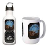 Aircraft Instrument Mugs & Bottles