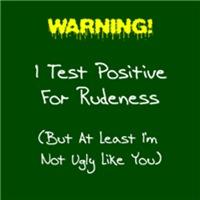 Test For Rudeness