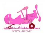 Papa's Co-Pilot Pink