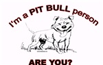 Pit Bull Person!