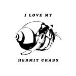 I love my hermit crabs