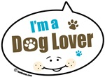 I'm a Dog Lover Quote Bubbles