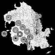 Dharma Station Identification Map