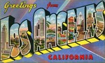 Los Angeles Vintage Postcard Collection