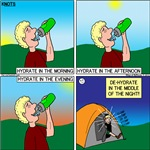 Hydrate and Dehydrate