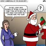 Santa Caught