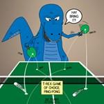 T-Rex Ping Pong