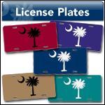 Palmetto License Plates