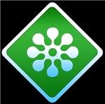 Green star sign
