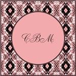 Primrose Pink Initials