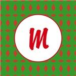 Christmas Wrap Monogram