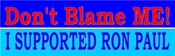 Don't Blame ME-RP Women's Clothing
