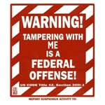 WARNING tampering with me