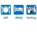 eat sleep bowling