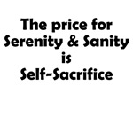 Price of Serenity & Sanity