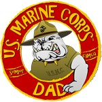 US Marine Corp Dad (Devil Dog)