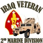 2nd MARDIV Iraq Vet - Humvee