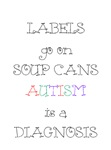 Cute - Labels Go On Soup Cans