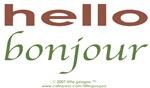 Bi-Lingual 101: Hello, Bonjour