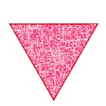 Vintage Pink Triangle
