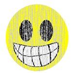 Vintage Grinning Smiley 2