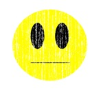 Vintage emotionless Smiley