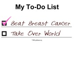 My To-Do List for Breast Cancer