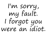I'm sorry, my fault.