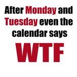 Even the Calendar says WTF
