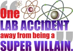 Lab Accident Villain
