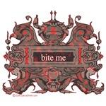 Bite Me Vampire Crest