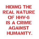 HIDING THE REAL NATURE OF HHV-6 IS A CRIME AGAINST