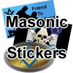 Masonic stickers