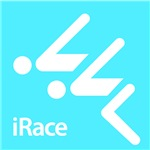 Competitive Swimming iRace Silhouette