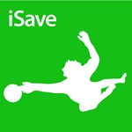 Soccer iSave Silhouette