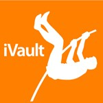 Track & Field iVault Silhouette