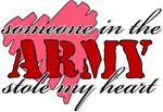 Someone in the Army stole my Heart