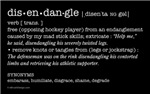 Disendangle: hockey definition