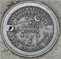 Water Meter Lid