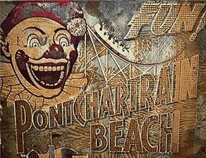1930s Pontchartrain Beach Sign