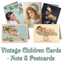 Vintage Children Greeting Cards