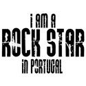 Rock Star In Portugal T-shirts
