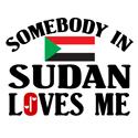 Somebody In Sudan T-shirt