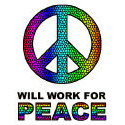 Will Work For Peace T-shirt & Gift