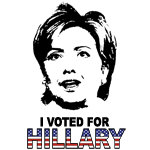 I Voted For Hillary Merchandise