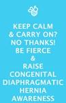 Be Fierce & Raise CDH Awareness