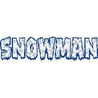 Snowman * eight for a hole