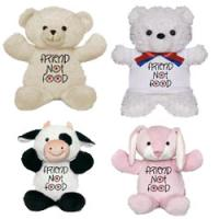 Friends Not Food Plush Toys