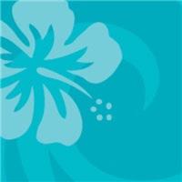 Light Blue Hibiscus