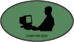 Computer Geek (euro-green)